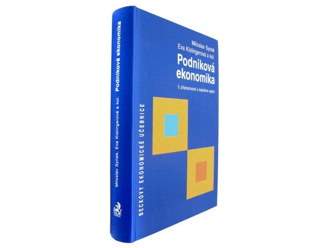 3509030 podnikova ekonomika