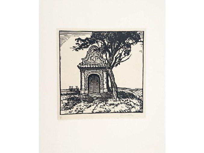 Kaplička v polích