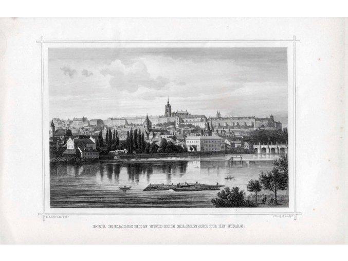 Der Hradschin und die Kleine seite in Prag