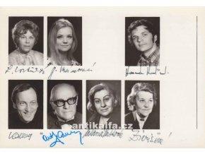 Fotografie herců s podpisy 57 - 63