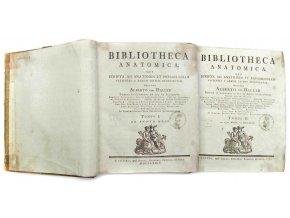 Bibliotheca anatomica díl I., II.