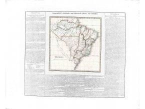 Geographisch - statistische und historische Charte von Brasilien