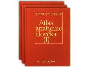Atlas anatomie člověka I. - III.