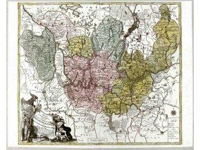 Mappa Geographica..Brandenburgensem