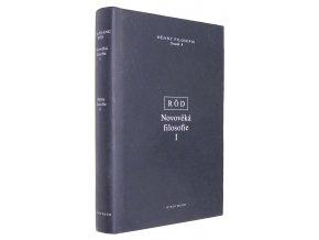 Novověká filosofie I.