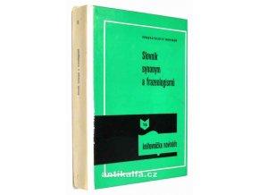 Slovník synonym a frazeologismů