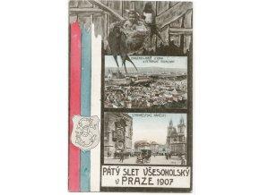 Pátý slet všesokolský v Praze 1907