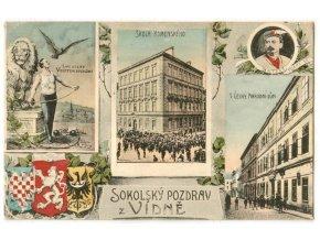 Sokolský pozdrav z Vídně