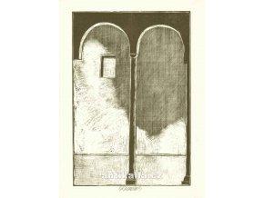 Okno v klášteře II.