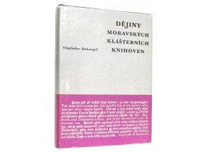 Dějiny moravských klášterních knihoven