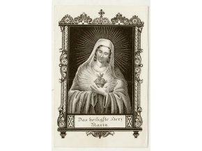 Das heiligste herz Maria