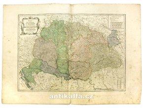 Karte von dem Königreiche Ungarn