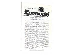 Zpravodaj Sdružení přátel Jaroslava F