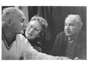Bohumil Hrabal, Zuzana Rothová a Karel Marysko