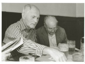 Bohumil Hrabal a Karel Marysko