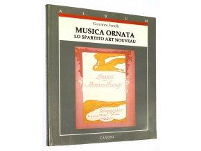 Musica Ornata: Lo Spartito Art Nouveau