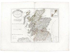 Karte von Scotland