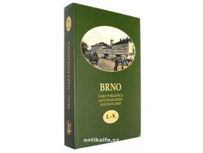 Brno : staré pohlednice I. - V.