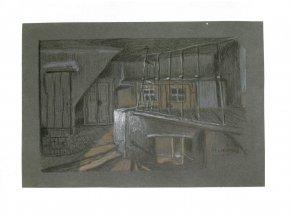 Brno - sklepení v domě 10
