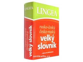 Rusko-český, česko-ruský velký slovník