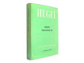Dějiny filosofie III.