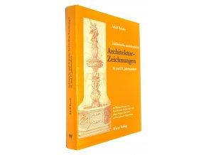 Italienische und deutsche Architekturzeichnungen