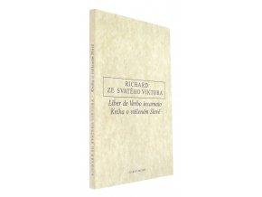 Liber de Verbo incarnato = Kniha o vtěleném Slově.