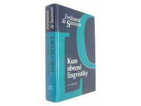 Kurs obecné lingvistiky