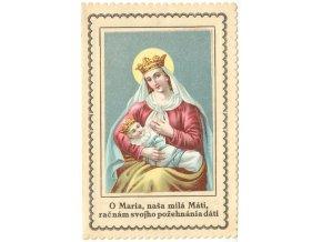 O Maria, naša milá Máti