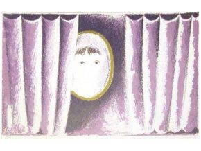 Portrét za záclonou