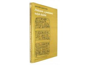 Prehistorie a protohistorie řeckých dialektů
