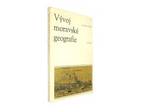 Vývoj moravské geografie