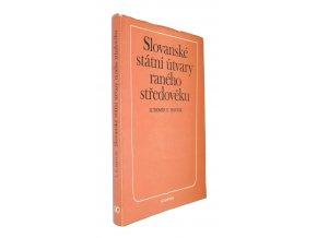 Slovanské státní útvary raného středověku