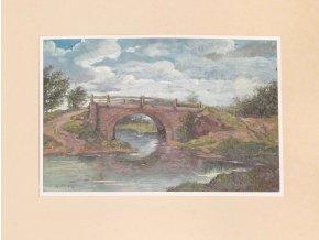 Mostek v krajině