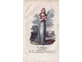 Svatá Juliana z Nikomedie
