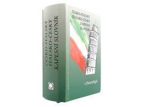 Česko-italský, italsko-český kapesní slovník s frazeologií