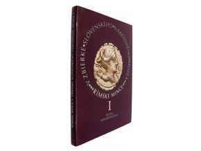 Rímske mince v zbierke Slovenského národného múzea I. Autor Elena Minarovičová.