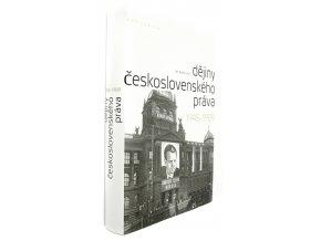 36 943 dejiny ceskoslovenskeho prava 1945 1989