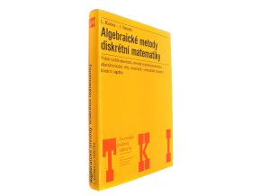 37 467 algebraicke metody diskretni matematiky