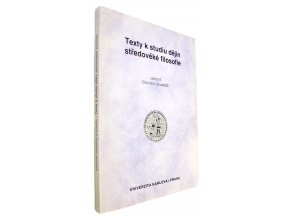 37 842 texty k studiu dejin stredoveke filosofie