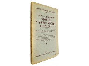 39 019 slovaci v zahranicnej revolucii