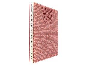39 780 historicky mistopis moravy a slezska v letech 1848 1960 xiii