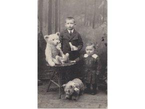 43 230 sourozenci s medvedy