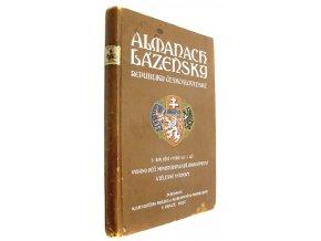 43 509 almanach lazensky republiky ceskoslovenske