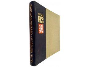 45 014 atlas republiky ceskoslovenske