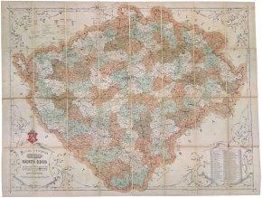 45 015 politicka a mistopisna mapa kralovstvi ceskeho