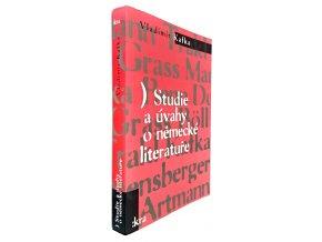 45 366 studie a uvahy o nemecke literature