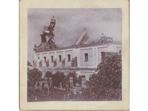 Požár kláštera Sv. Augustina ve Vrchlabí
