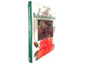 Balkónové a přenosné květiny