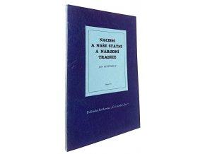 Nacism a naše státní a národní tradice